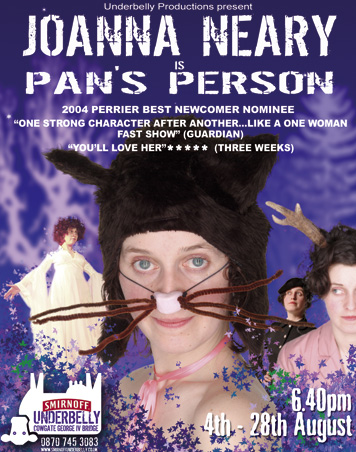 Joanna Neary is Pan's Person