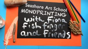 Sea Shore Art School, Mono printing Episode