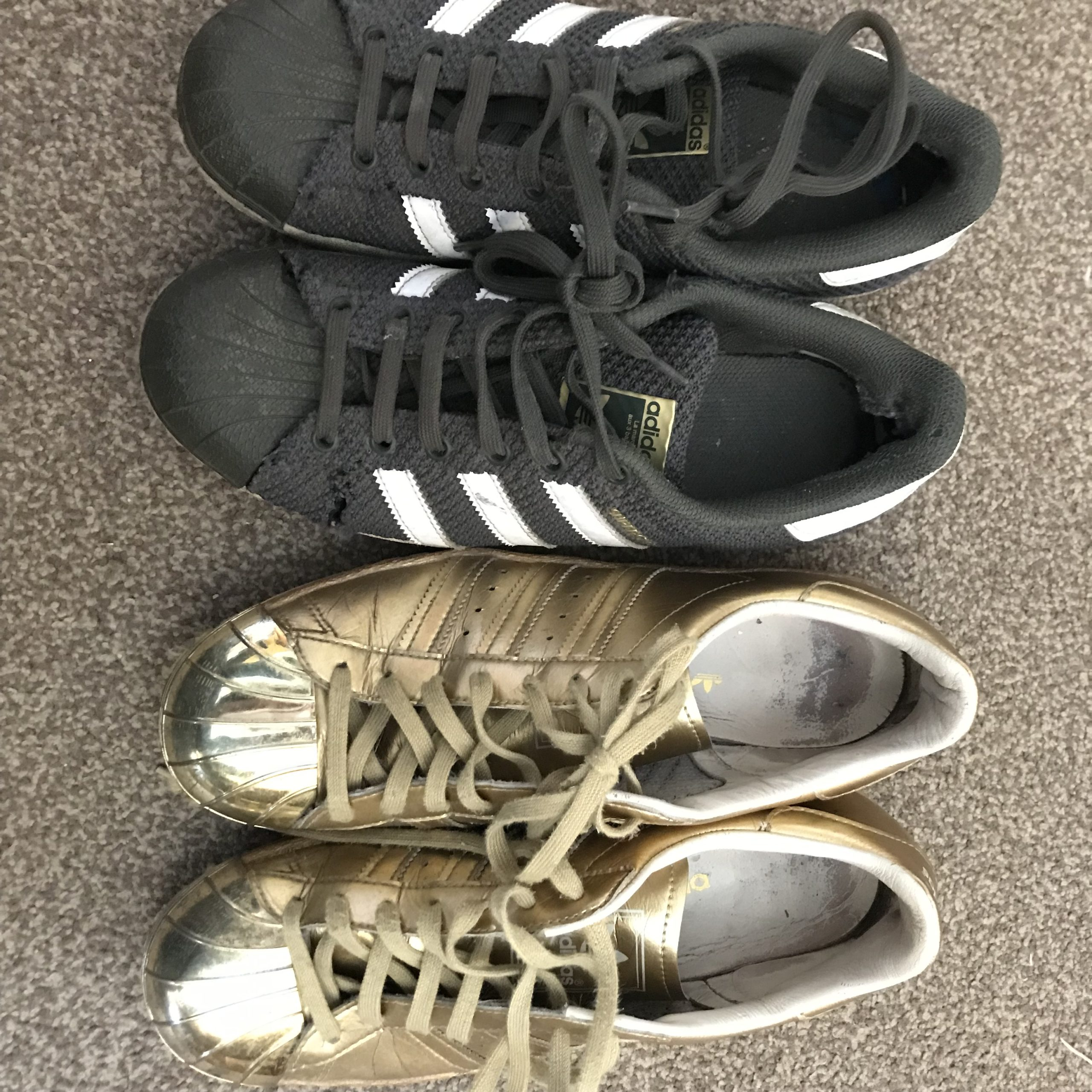 Mending For All (Have My Adidas Had It?)